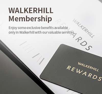 Enjoy some exclusive benefits available only in Walkerhill with our valuable services.
