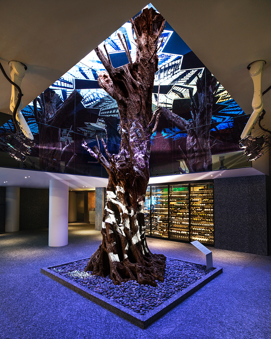 Vista Walkerhill Seoul Lobby Olive Tree